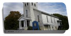 St Nicholas Church Saint Clair Pennsylvania Portable Battery Charger by David Dehner