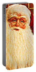 St. Nicholas Melting Canvas Photoart Portable Battery Charger