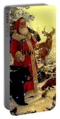 St Nick  And Friends Portable Battery Charger