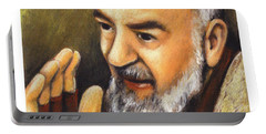 St. Padre Pio Of Pietrelcina - Jlpio Portable Battery Charger