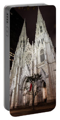 St Patrick Cathedral New York Portable Battery Charger