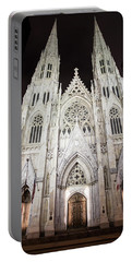 St Patrick Cathedral Nyc Morning  Portable Battery Charger