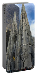 St. Patricks Cathedral Portable Battery Charger