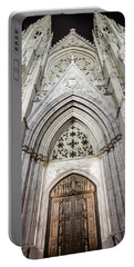 St Patrick's Cathedral Door  Portable Battery Charger