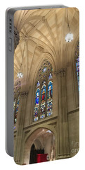 St. Patricks Cathedral Interior Portable Battery Charger