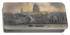 St Paul's From The River Portable Battery Charger