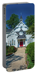 Portable Battery Charger featuring the photograph St. Pauls United Methodist Church by Mark Dodd