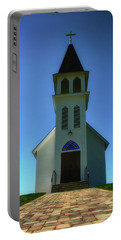 Portable Battery Charger featuring the photograph St. Peter's Church 2 by Joseph Hollingsworth