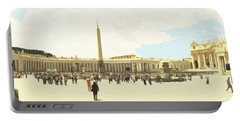 St. Peter's Square The Vatican Portable Battery Charger