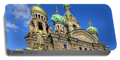 St. Petersburg Church Of The Spilt Blood Portable Battery Charger