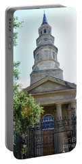 St. Phillips Episcopal Church, Charleston, South Carolina Portable Battery Charger