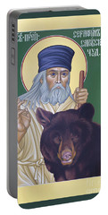 St. Seraphim Of Sarov - Rlses Portable Battery Charger
