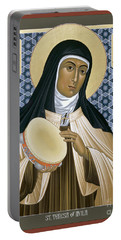 St. Teresa Of Avila - Rltoa Portable Battery Charger