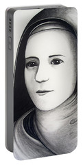 St. Therese Of Lisieux Portable Battery Charger