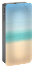 St Thomas #3 Seascape Landscape Original Fine Art Acrylic On Canvas Portable Battery Charger