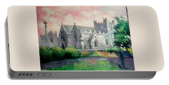 St Trinity Abbey Adare County Limerick Ireland Portable Battery Charger