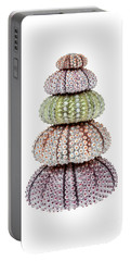Portable Battery Charger featuring the photograph Stack Of Sea Urchins by Elena Elisseeva