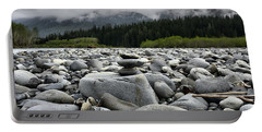 Stacked Rocks Portable Battery Charger