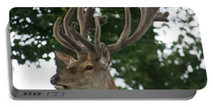 Stag Head. Portable Battery Charger