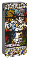 Stained Glass 1 Portable Battery Charger
