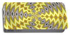 Portable Battery Charger featuring the photograph Stained Glass Kaleidoscope 18 by Rose Santuci-Sofranko