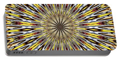 Portable Battery Charger featuring the photograph Stained Glass Kaleidoscope 22 by Rose Santuci-Sofranko