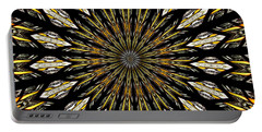 Portable Battery Charger featuring the photograph Stained Glass Kaleidoscope 5 by Rose Santuci-Sofranko