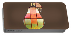 Stained Glass Pear Portable Battery Charger