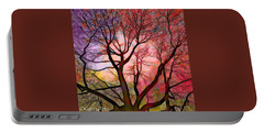 Stained Glass Sunrise 2 Portable Battery Charger