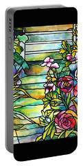 Stained Glass Tiffany Robert Mellon House Portable Battery Charger