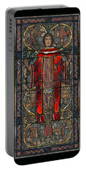 Stained Glass Window 1928 - Remastered Portable Battery Charger