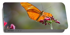 Stained Glass Wings Portable Battery Charger