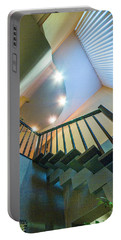 Portable Battery Charger featuring the photograph Staircase by Vladimir Kholostykh