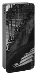Stairway Lll Black And White Portable Battery Charger