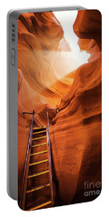 Stairway To Heaven Portable Battery Charger by JR Photography