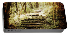 Stairway To Heaven Portable Battery Charger by Julie Hamilton
