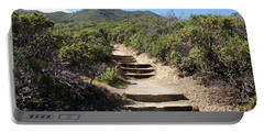Stairway To Heaven On Mt Tamalpais Portable Battery Charger