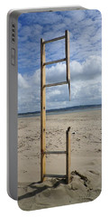 Stairway To Heaven Portable Battery Charger by Richard Brookes