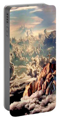 Stairway To Heaven Portable Battery Charger by Ron Chambers