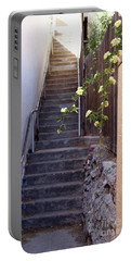 Stairway To Heaven Portable Battery Charger by Suzanne Oesterling