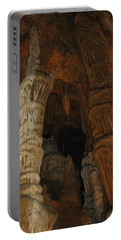 Stalacmites In Luray Caverns Va  Portable Battery Charger by Ausra Huntington nee Paulauskaite