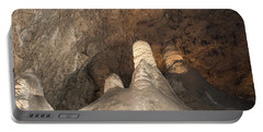Stalagmite View 2 Portable Battery Charger by James Gay