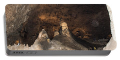 Stalagmite View Portable Battery Charger by James Gay