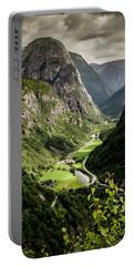 Stalheim Valley Portable Battery Charger by KG Thienemann