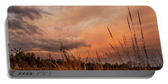 Portable Battery Charger featuring the photograph Stalking The Sky  by John Harding
