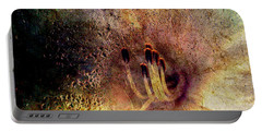 Portable Battery Charger featuring the photograph Stamins Of A Daylily by Michele A Loftus