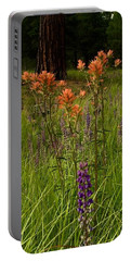 Stand Out In The Crowd Portable Battery Charger by Jennifer Lake