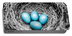 Bird Eggs Photographs Portable Battery Chargers