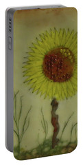 Standing At Attention Portable Battery Charger by Terry Honstead