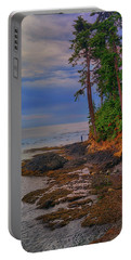 Portable Battery Charger featuring the photograph Standing By The Sea by Greg Norrell